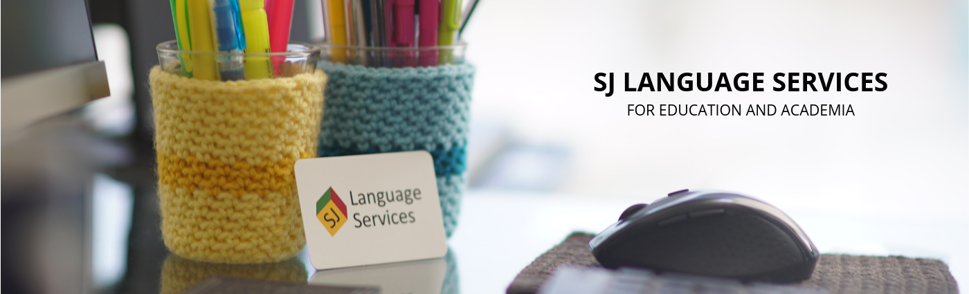 SJ Language Services for education and academia